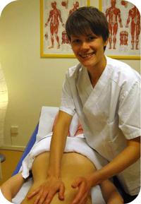 Medicinsk massageterapeut Ingrid Pehrson