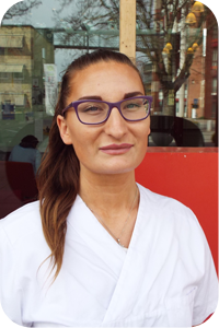 Massageterapeut Lisa Lancing